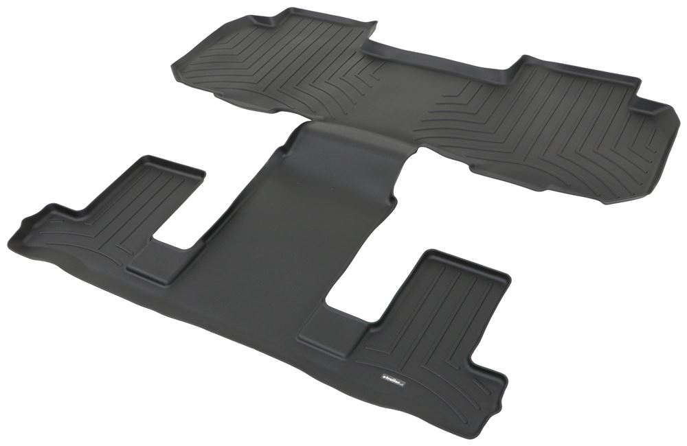 2018 Chevrolet Traverse Weathertech 2nd And 3rd Row Rear