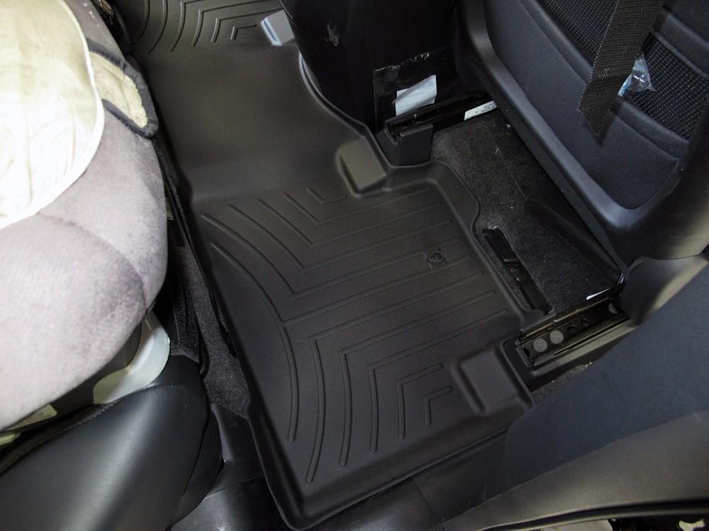2011 honda pilot weathertech 2nd row rear auto floor mat. Black Bedroom Furniture Sets. Home Design Ideas