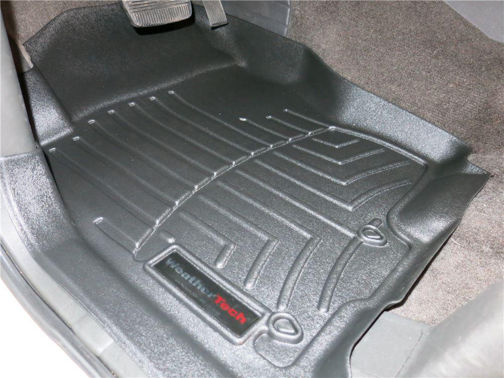 2006 Nissan Xterra Weathertech Front Auto Floor Mats Black