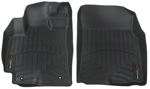 2009 toyota corolla weathertech front auto floor mats black. Black Bedroom Furniture Sets. Home Design Ideas