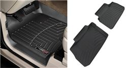 WeatherTech Custom Auto Floor Liners - Front and Rear - Black