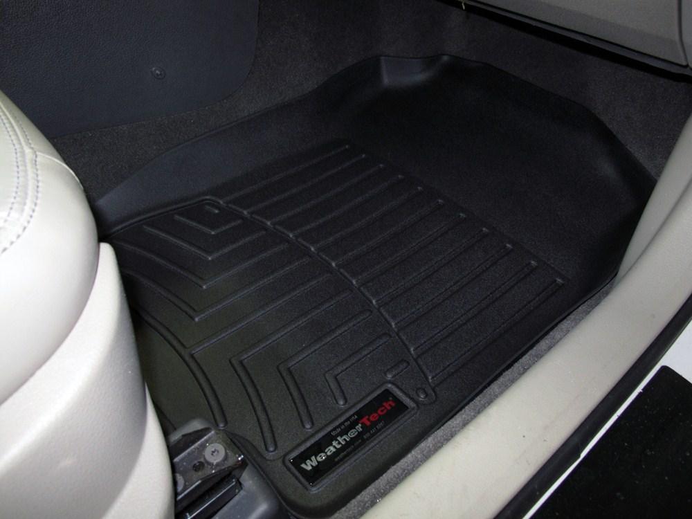2012 Ford Fusion Weathertech Front Auto Floor Mats Black