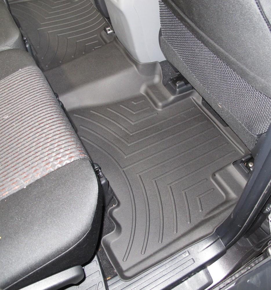 2016 Toyota 4runner Weathertech 2nd Row Rear Auto Floor