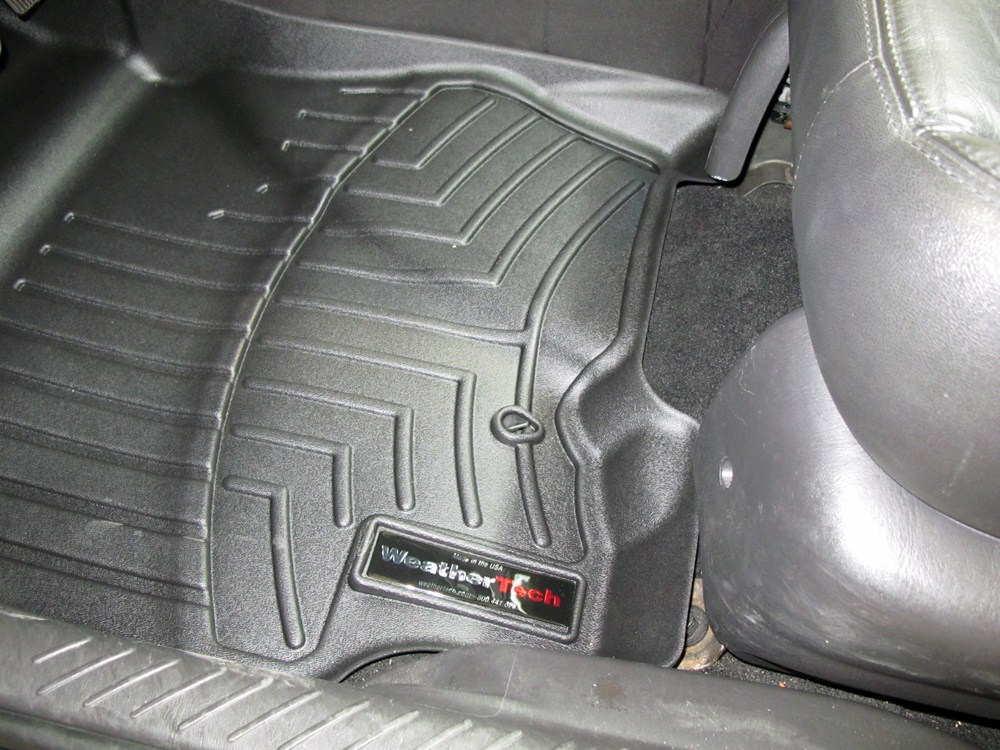 2010 ford escape weathertech front auto floor mats black. Black Bedroom Furniture Sets. Home Design Ideas