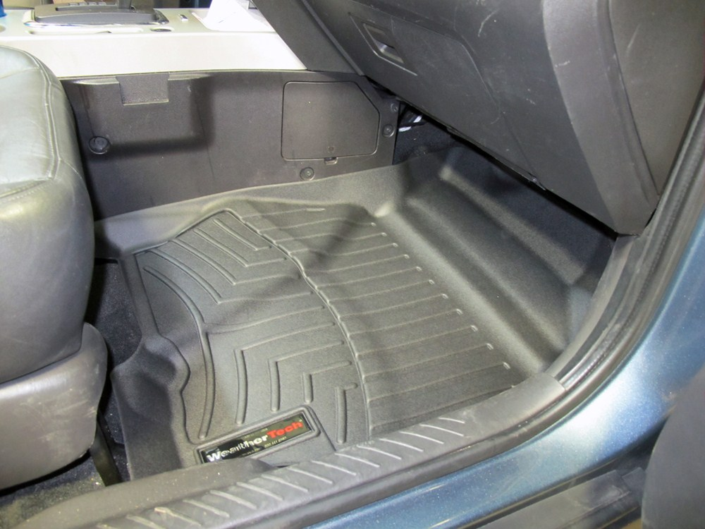 2011 ford escape weathertech front auto floor mats black. Black Bedroom Furniture Sets. Home Design Ideas