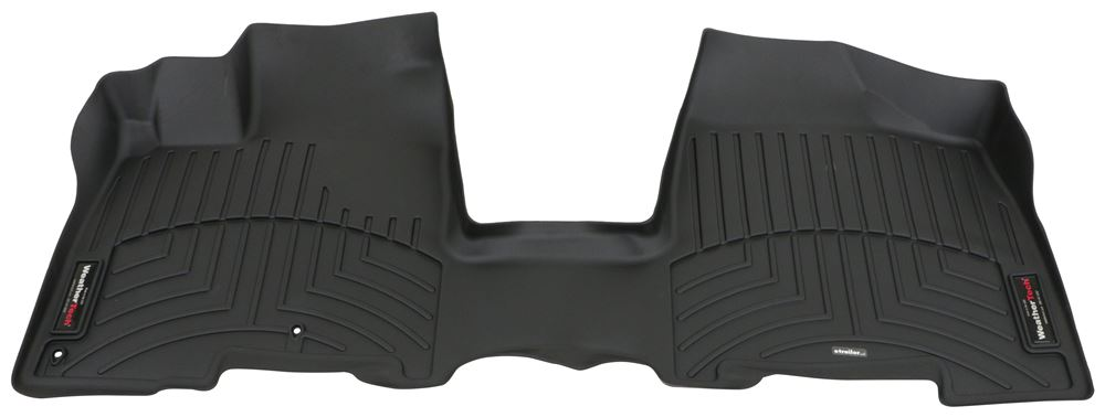 2007 toyota sienna weathertech front auto floor mat single piece black. Black Bedroom Furniture Sets. Home Design Ideas