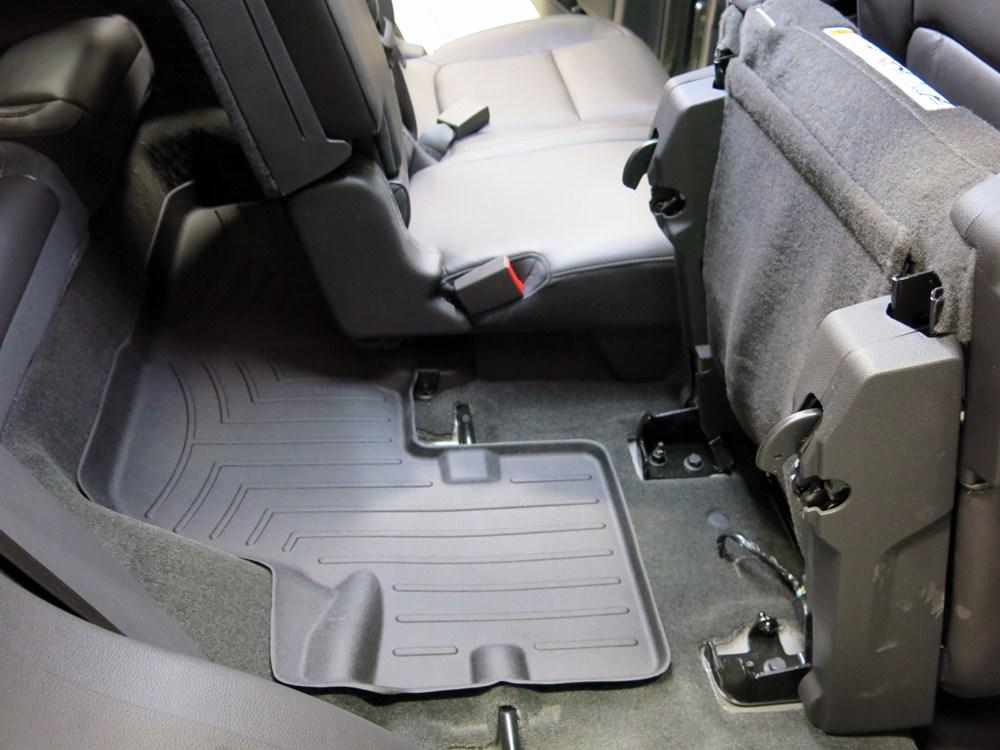 2016 Ford Explorer Weathertech 3rd Row Rear Auto Floor Mat