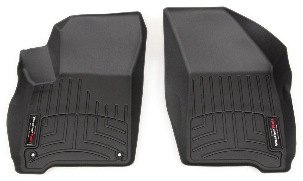 WeatherTech Front Auto Floor Mats - Black WeatherTech Floor Mats WT443771