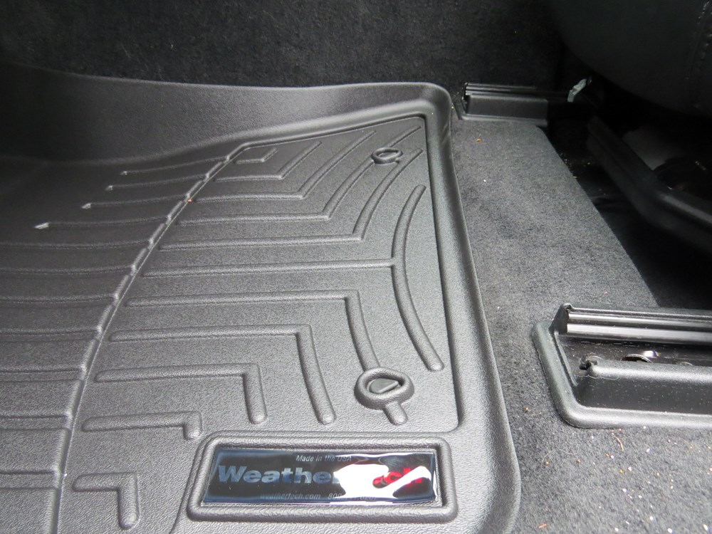 2012 Chrysler 300 Weathertech Front Auto Floor Mats Black