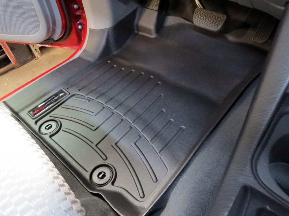 2015 Toyota Tacoma Weathertech Front Auto Floor Mats Black