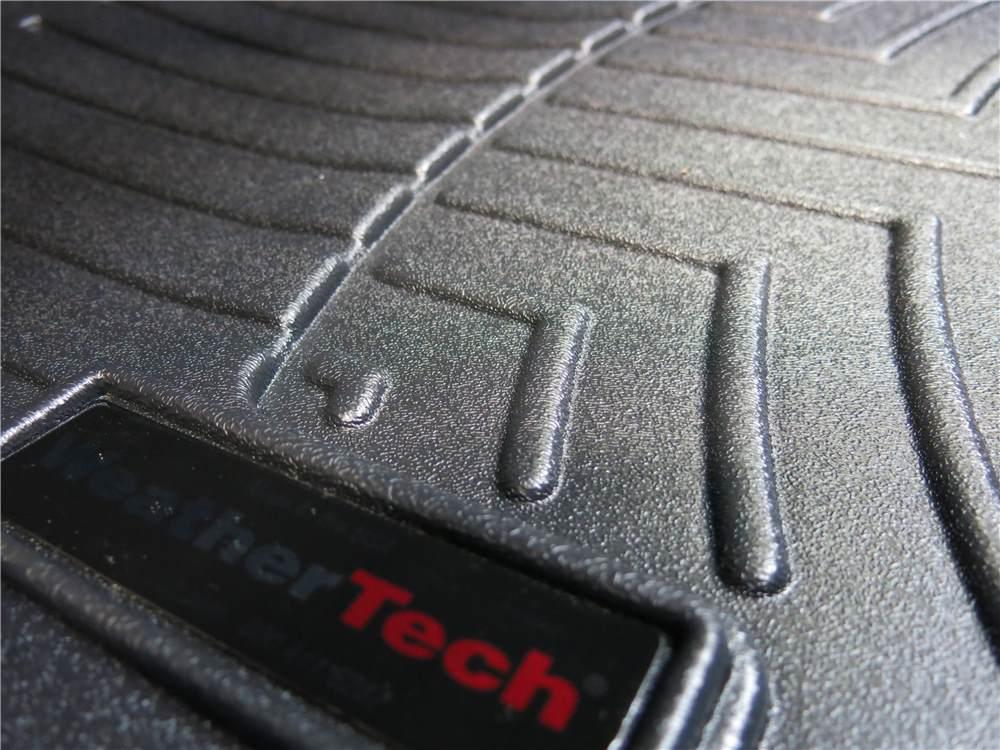 weathertech front auto floor mats black weathertech floor mats wt444691. Black Bedroom Furniture Sets. Home Design Ideas