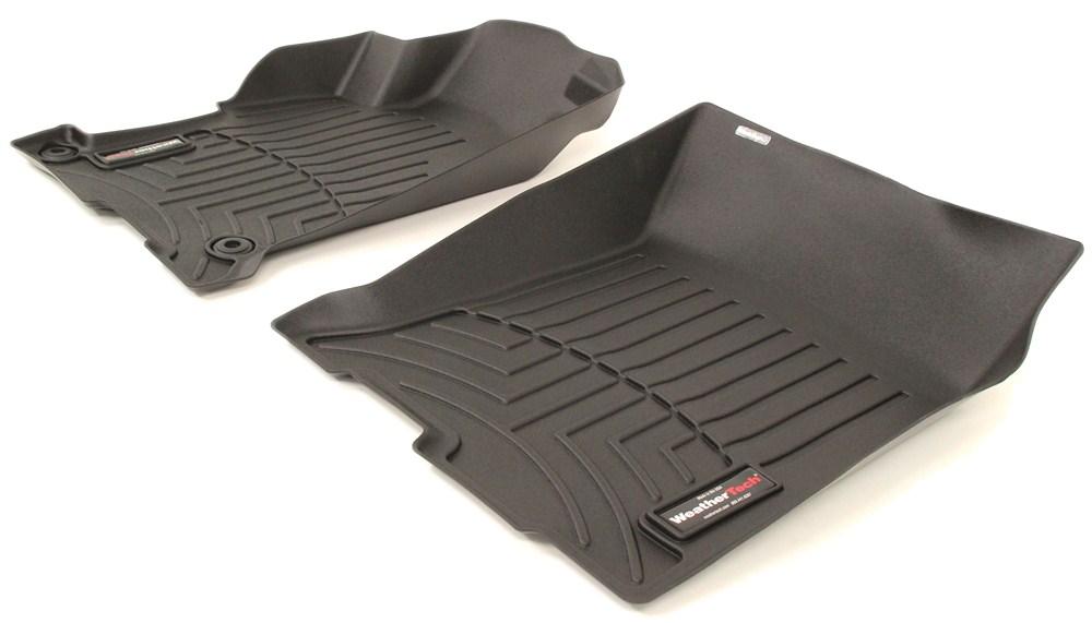 2016 Honda Accord Weathertech Front Auto Floor Mats Black