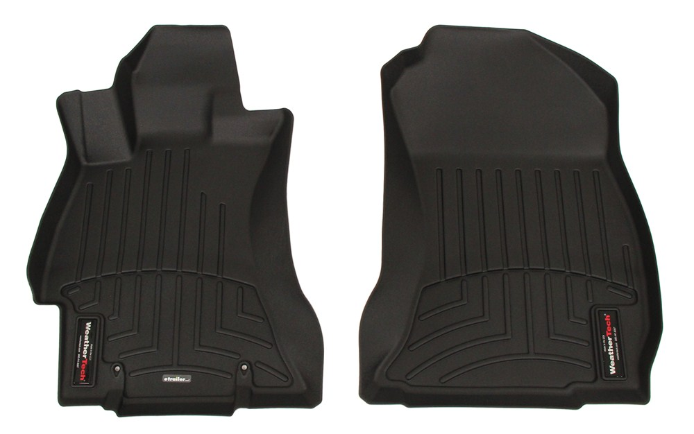 2016 subaru forester weathertech front auto floor mats black. Black Bedroom Furniture Sets. Home Design Ideas