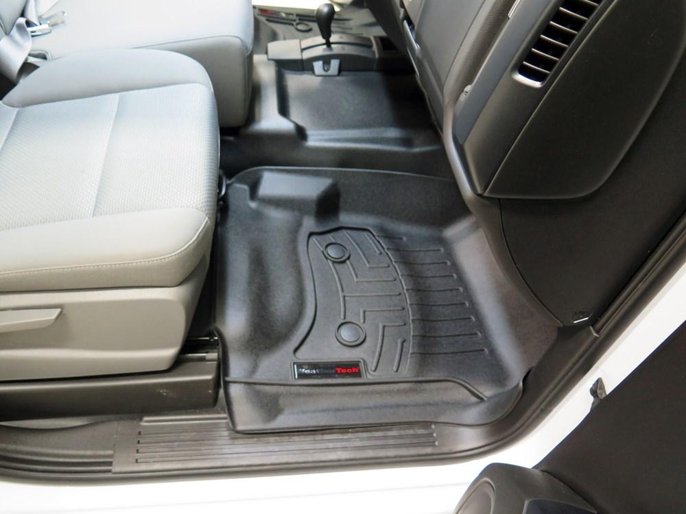WeatherTech Front Auto Floor Mats - Black WeatherTech Floor Mats WT446071