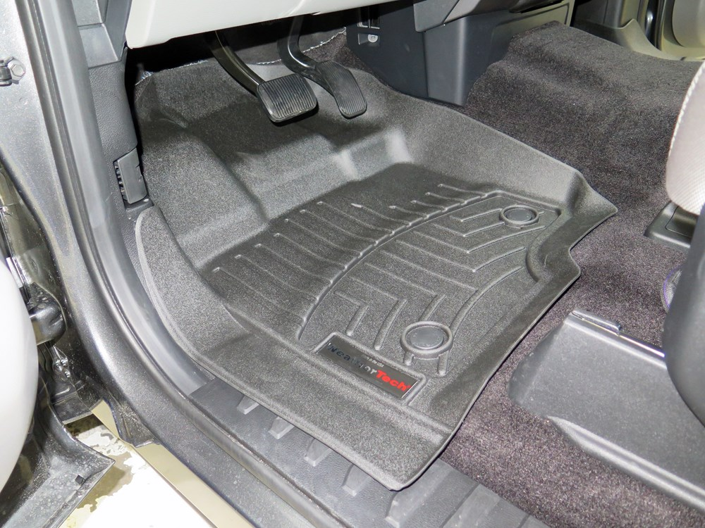 2016 Ford F 150 Weathertech Front Auto Floor Mats Black
