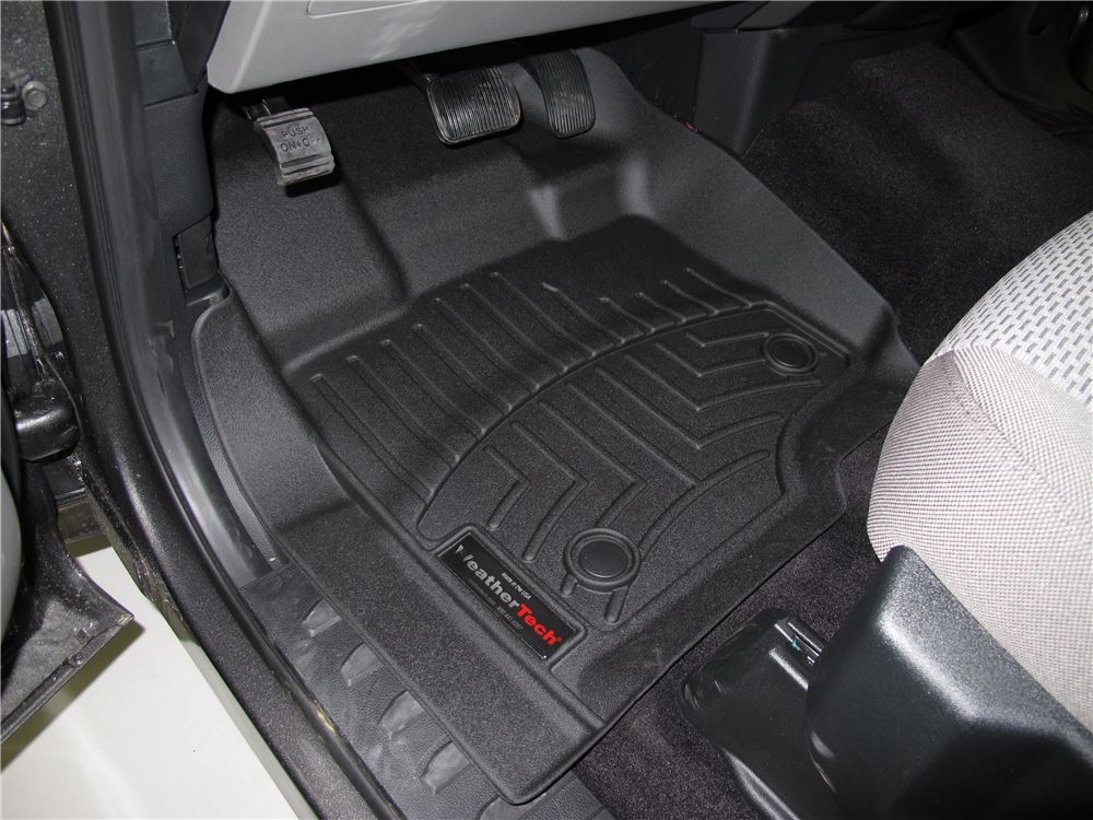 Ford Weathertech Front Auto Floor Mats Black
