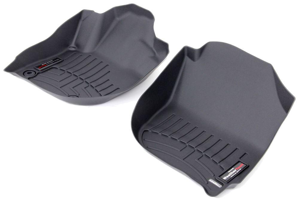 2015 honda fit weathertech front auto floor mats black. Black Bedroom Furniture Sets. Home Design Ideas