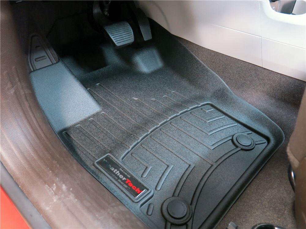 2016 Jeep Renegade WeatherTech Front Auto Floor Mats Black