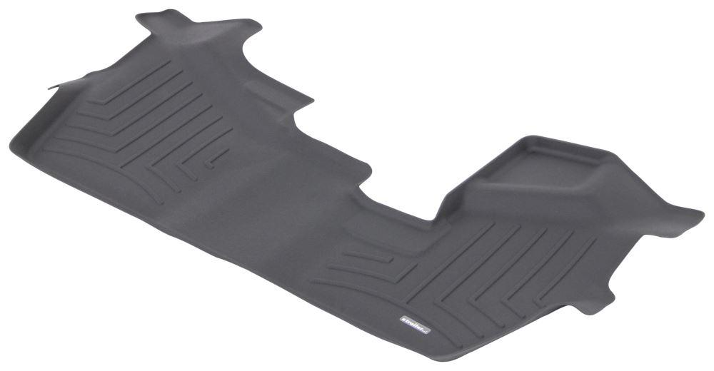 2016 honda pilot weathertech 3rd row rear auto floor mat black. Black Bedroom Furniture Sets. Home Design Ideas