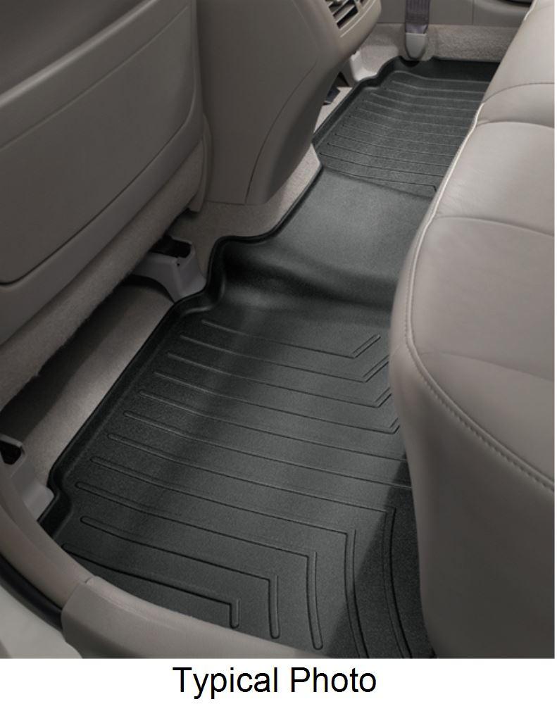2016 honda pilot weathertech 2nd row rear auto floor mat black. Black Bedroom Furniture Sets. Home Design Ideas