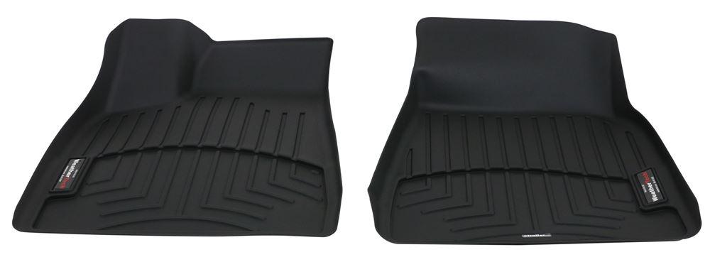 2017 Tesla Model X WeatherTech Front Auto Floor Mats - Black
