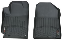 WeatherTech Front Floor Mats - Black