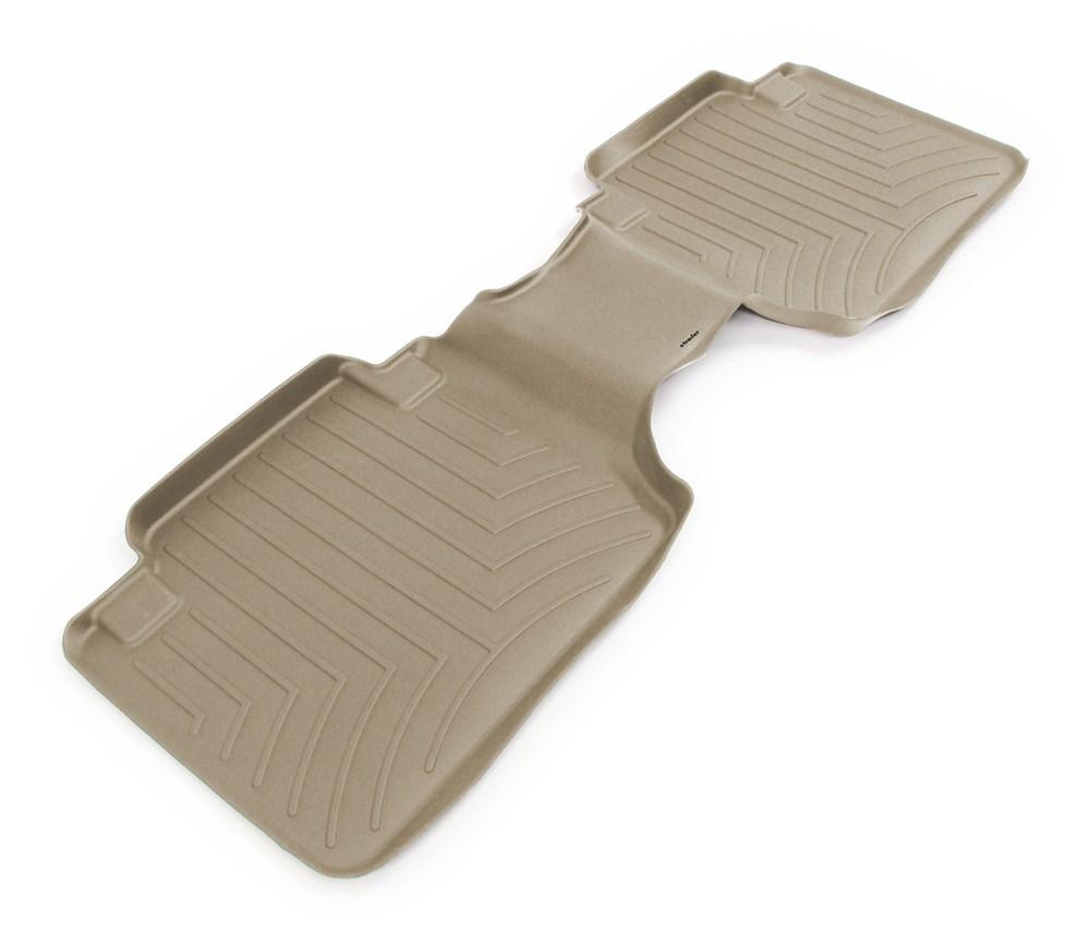 2014 toyota tacoma weathertech 2nd row rear auto floor mat tan. Black Bedroom Furniture Sets. Home Design Ideas