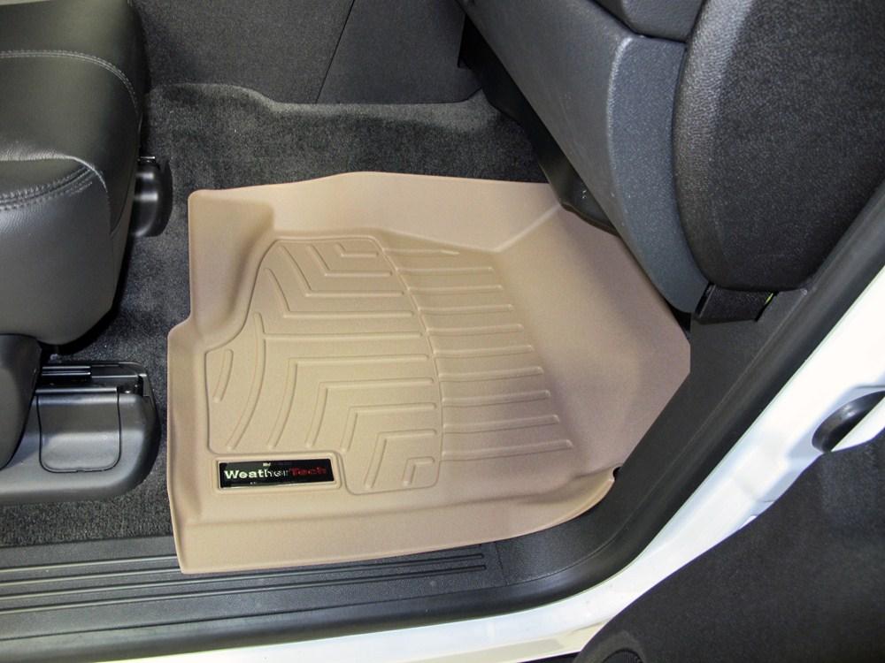 2009 Chevrolet Tahoe Weathertech Front Auto Floor Mats Tan