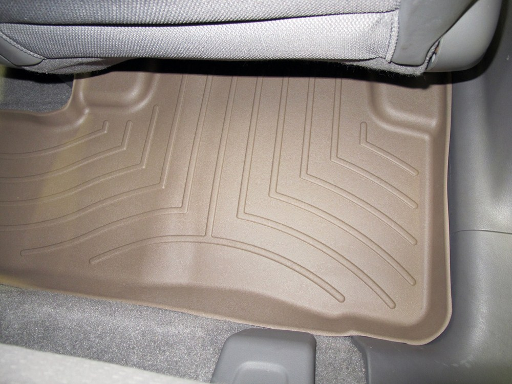 2008 honda cr v weathertech 2nd row rear auto floor mat tan. Black Bedroom Furniture Sets. Home Design Ideas