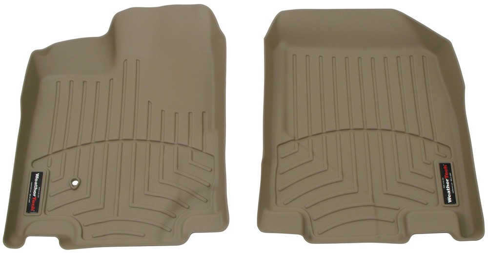 2010 Lincoln Mkx Weathertech Front Auto Floor Mats Tan