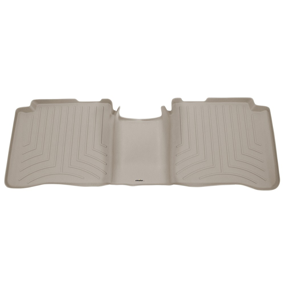 weathertech 2nd row rear auto floor mat tan weathertech. Black Bedroom Furniture Sets. Home Design Ideas