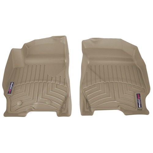 ford escape weathertech front auto floor mats tan. Black Bedroom Furniture Sets. Home Design Ideas