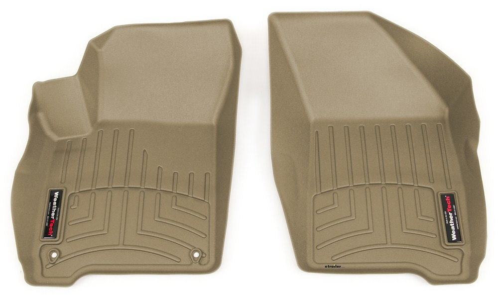 2016 dodge journey weathertech front auto floor mats tan. Black Bedroom Furniture Sets. Home Design Ideas