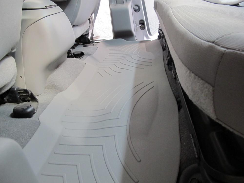 Grey 460022 WeatherTech Custom Fit Rear FloorLiner for Ford F250 Super Duty Crew