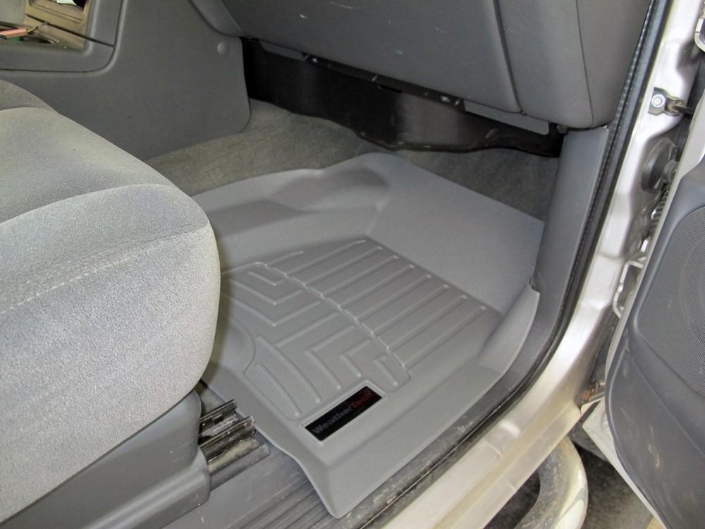 2002 Gmc Yukon Weathertech Front Auto Floor Mats Gray