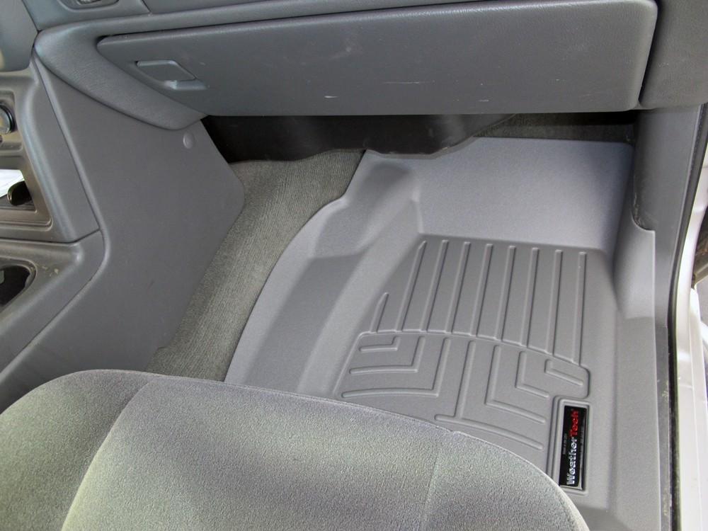 weathertech front auto floor mats