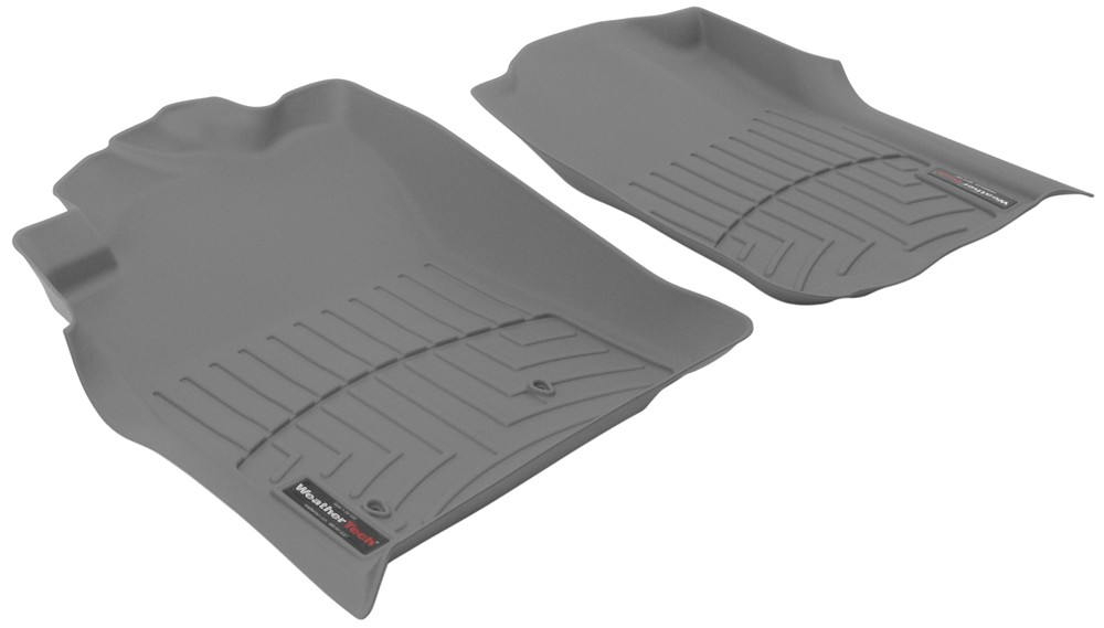 2010 toyota tacoma weathertech front auto floor mats gray. Black Bedroom Furniture Sets. Home Design Ideas