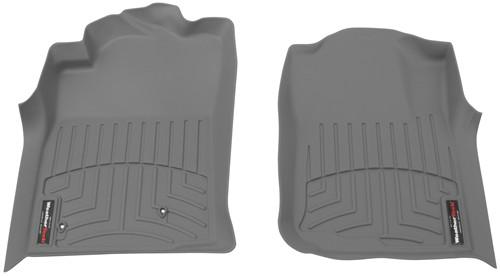 2005 toyota tacoma weathertech front auto floor mats gray. Black Bedroom Furniture Sets. Home Design Ideas