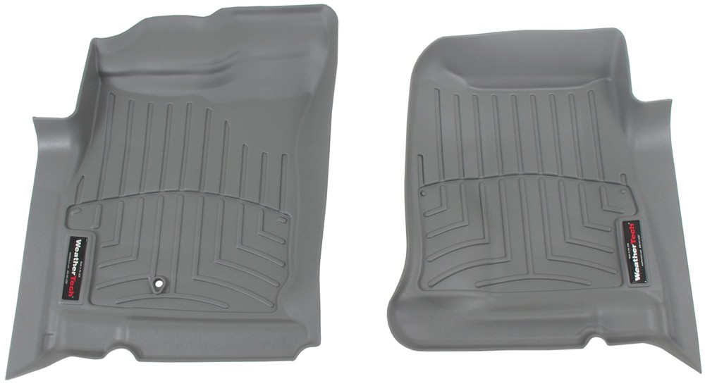 2005 Dodge Dakota Weathertech Front Auto Floor Mats Gray