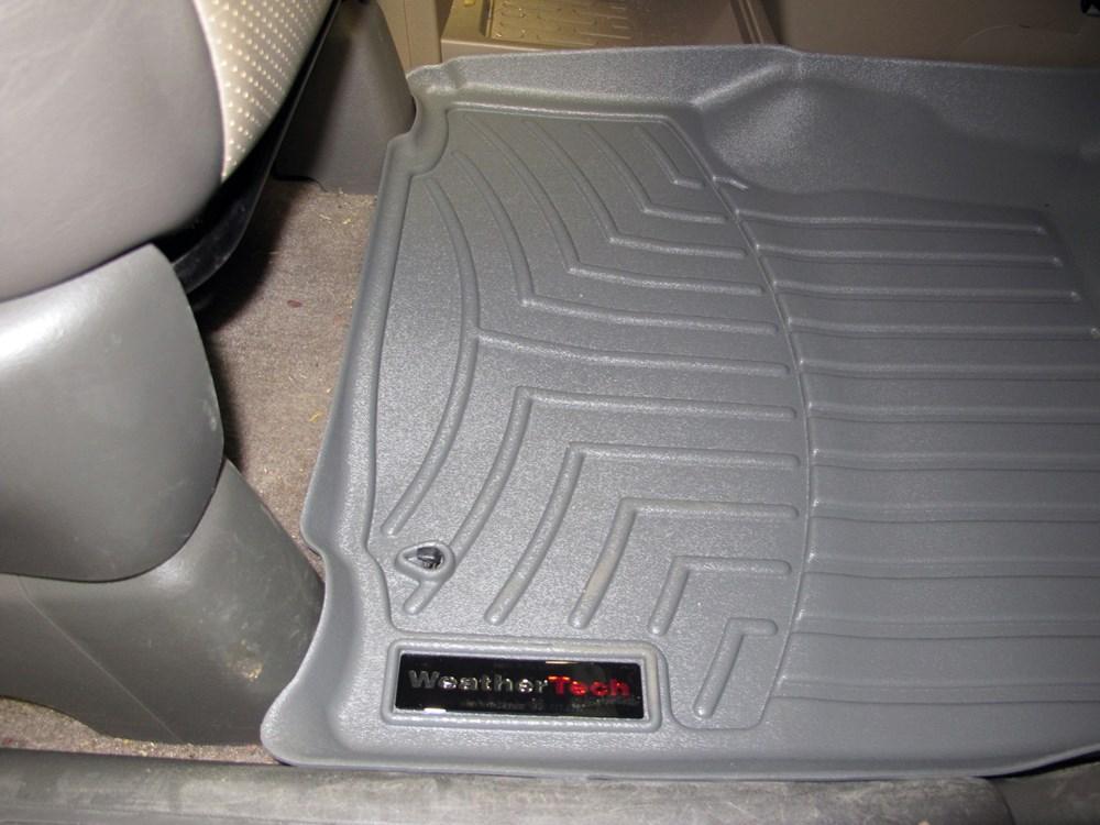 2008 Honda Ridgeline Weathertech Front Auto Floor Mats Gray