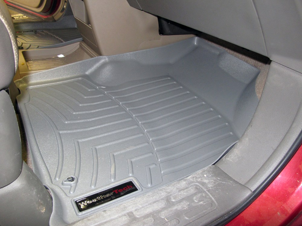 2008 honda ridgeline weathertech front auto floor mats gray. Black Bedroom Furniture Sets. Home Design Ideas