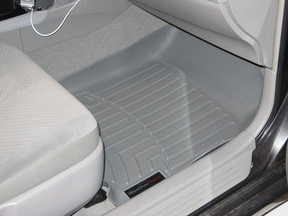 2011 toyota camry weathertech front auto floor mats gray. Black Bedroom Furniture Sets. Home Design Ideas