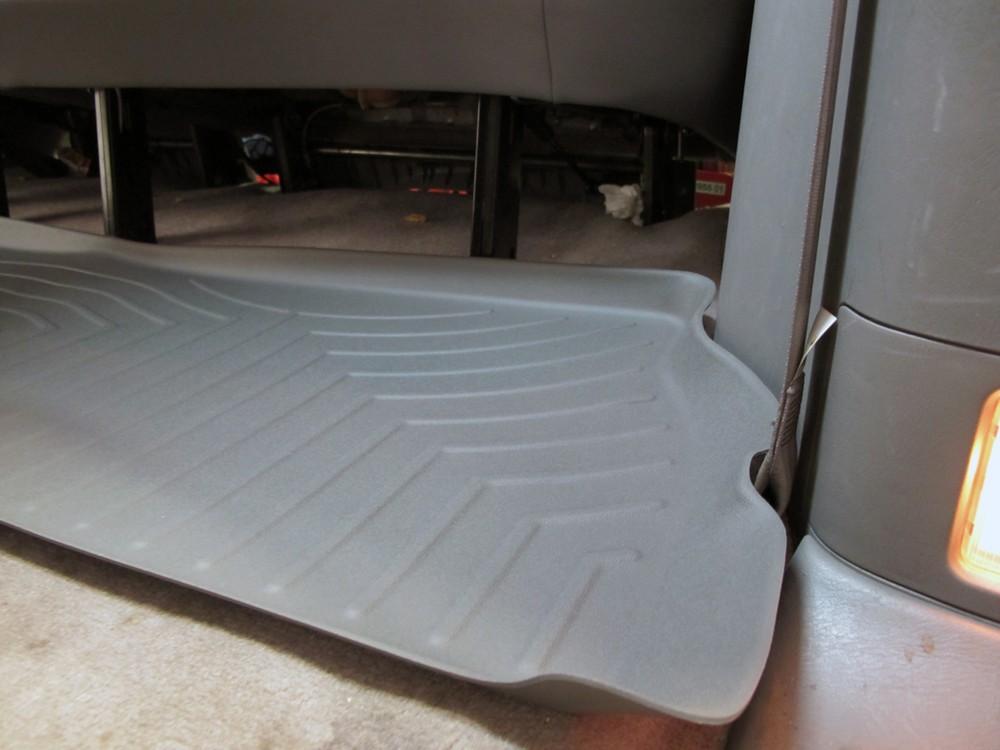 weathertech 3rd row rear auto floor mat gray weathertech floor mats wt460873. Black Bedroom Furniture Sets. Home Design Ideas