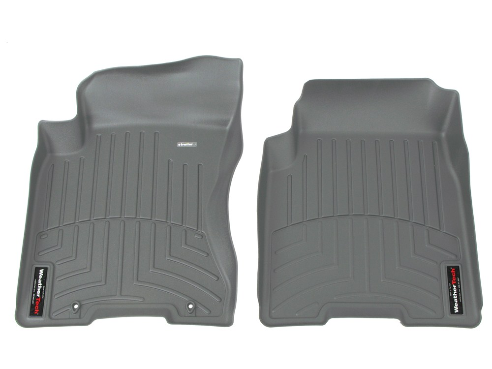 2013 nissan rogue weathertech front auto floor mats gray. Black Bedroom Furniture Sets. Home Design Ideas
