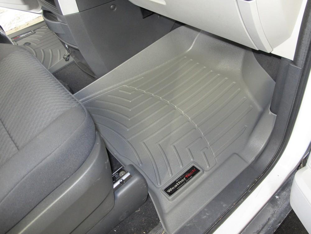2010 Dodge Grand Caravan Weathertech Front Auto Floor Mats