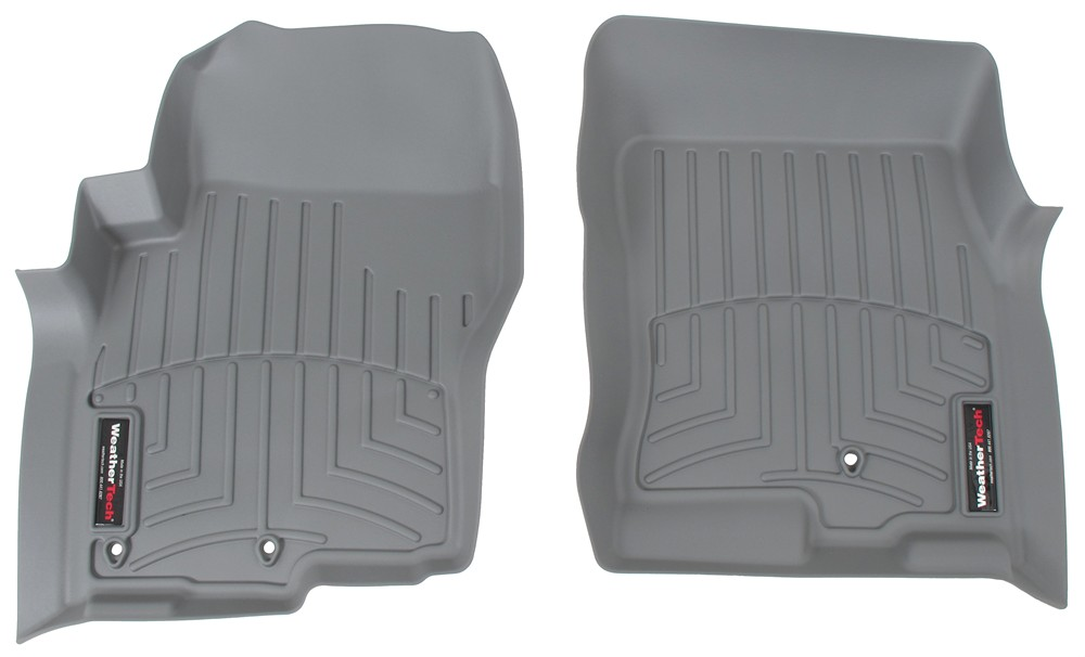 2017 nissan frontier weathertech front auto floor mats gray. Black Bedroom Furniture Sets. Home Design Ideas