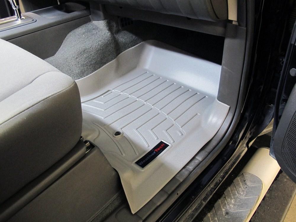 Weathertech Floor Mats Nissan Quest 2007 >> 2007 Nissan Pathfinder WeatherTech Front Auto Floor Mats ...