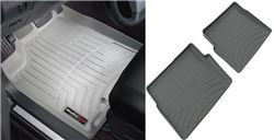 WeatherTech Custom Auto Floor Liners - Front and Rear - Gray