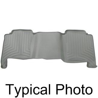 2010 toyota yaris weathertech 2nd row rear auto floor mat gray. Black Bedroom Furniture Sets. Home Design Ideas