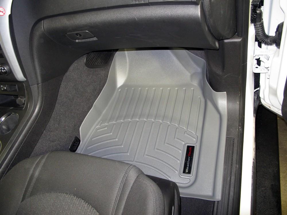 2011 Chevrolet Traverse Weathertech Front Auto Floor Mats